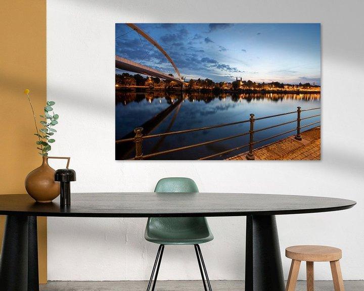 Sfeerimpressie: Skyline Maastricht van Dave Heuvels