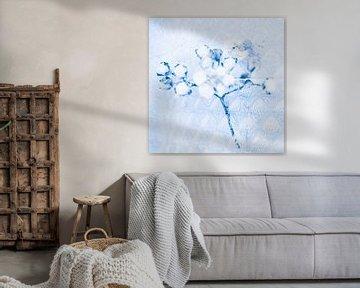 Im Glas eingefroren - arabisch blau von Pure Details by Linda