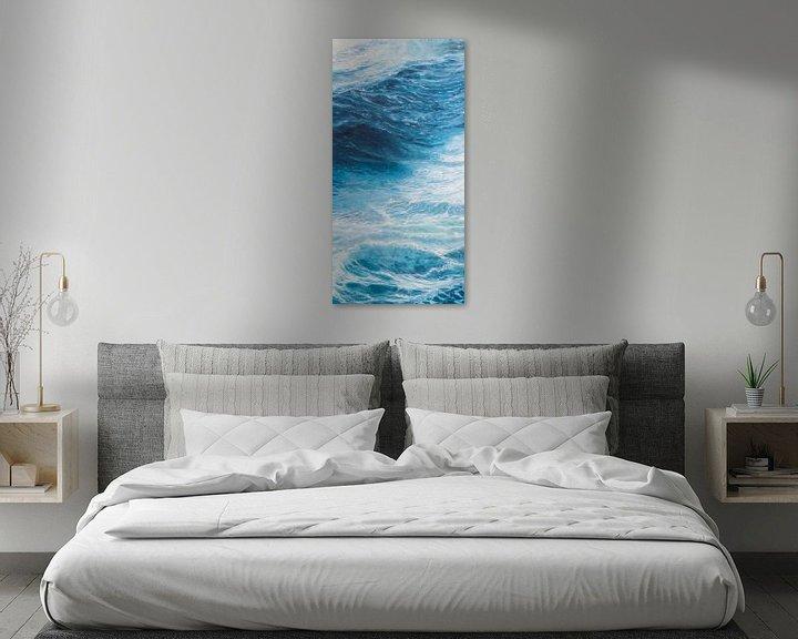Beispiel: Rechtes Tafel Triptychon - Windstärke des Meeres 10 von Bert Oosthout