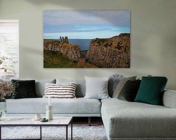 Ruine des Dunseverick Castle von Babetts Bildergalerie