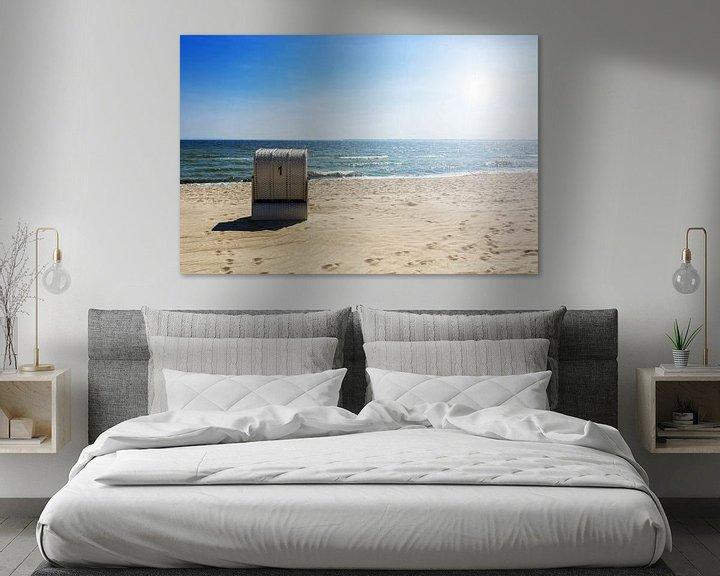 Beispiel: Strandkorb Nummer 1 von Frank Herrmann