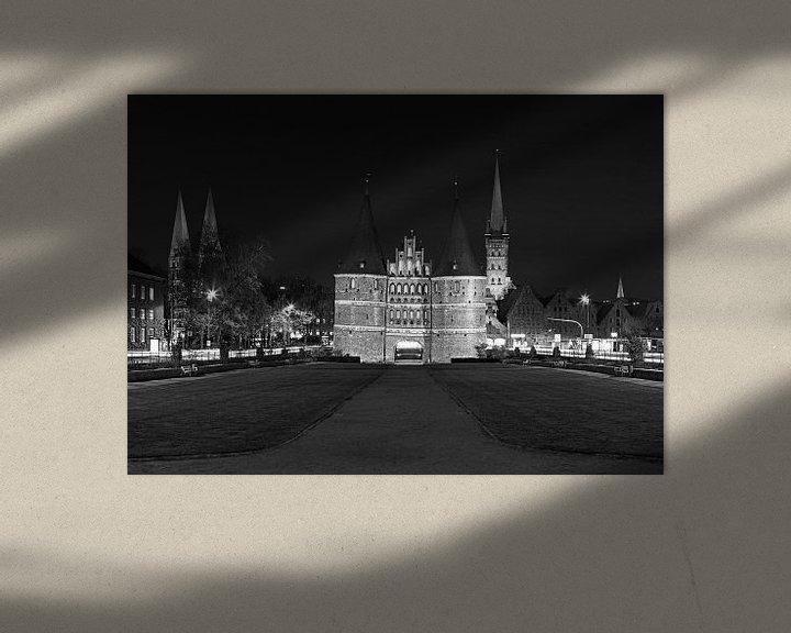 Impression: Panorama de la Holstentor de Lübeck sur Frank Herrmann
