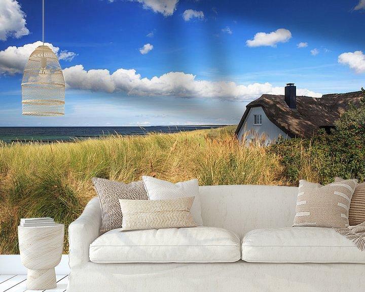 Beispiel fototapete: Am Strand von Ahrenshoop von Frank Herrmann