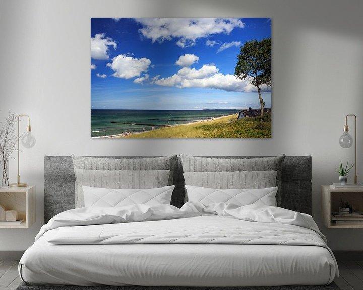 Beispiel: Am Strand von Ahrenshoop von Frank Herrmann
