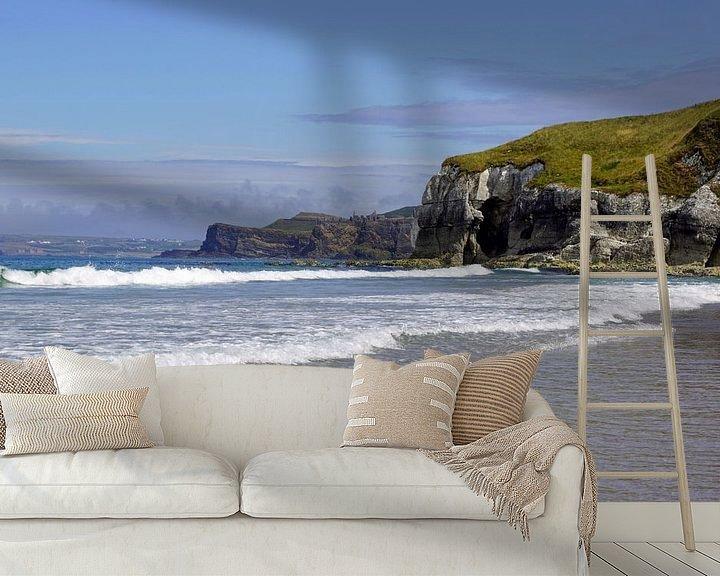 Sfeerimpressie behang: Whiterocks Beach - Ierland van Babetts Bildergalerie
