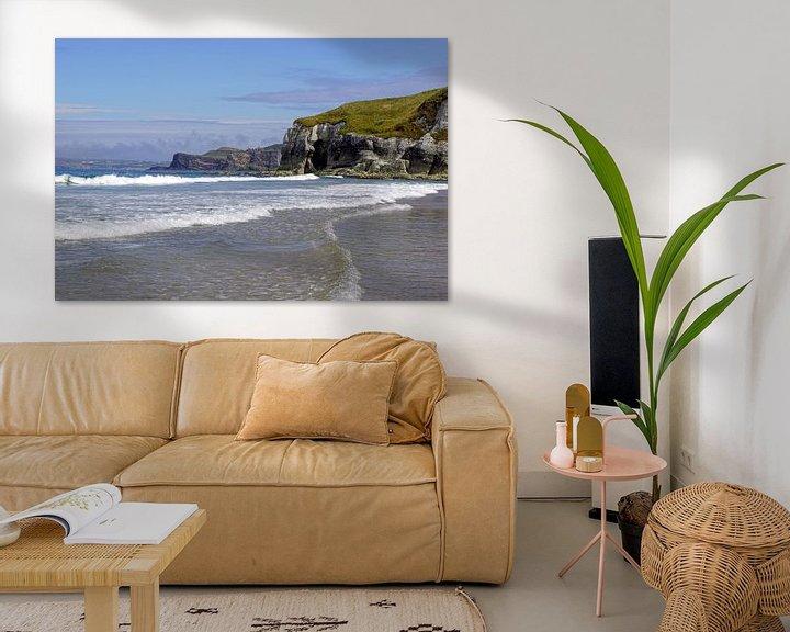 Sfeerimpressie: Whiterocks Beach - Ierland van Babetts Bildergalerie