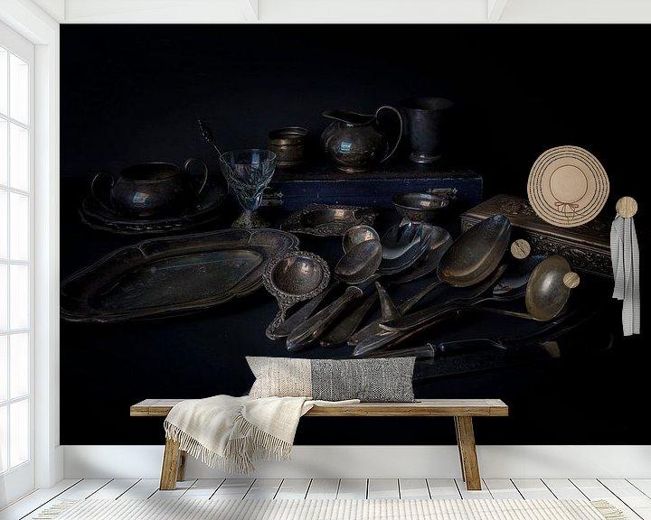 Sfeerimpressie behang: Stilleven van Marjan Noteboom