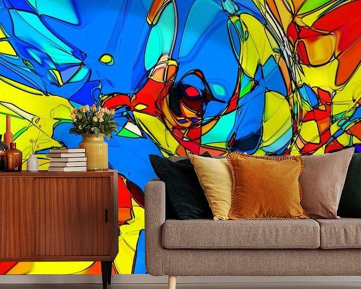 Beispiel fototapete: Superheld von Mike Espenhain