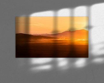 Sonnenuntergang Mongolei