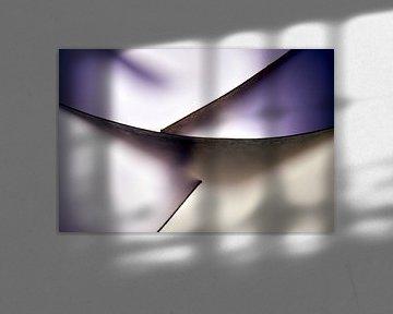 Makrofotografie gebogener Blätter von Frank Heinz