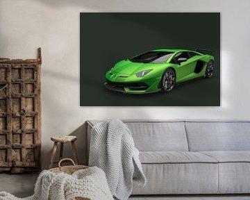 Lamborghini Aventador sur Gert Hilbink