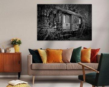 Eisenbahnwagen von Joel Houbrigts