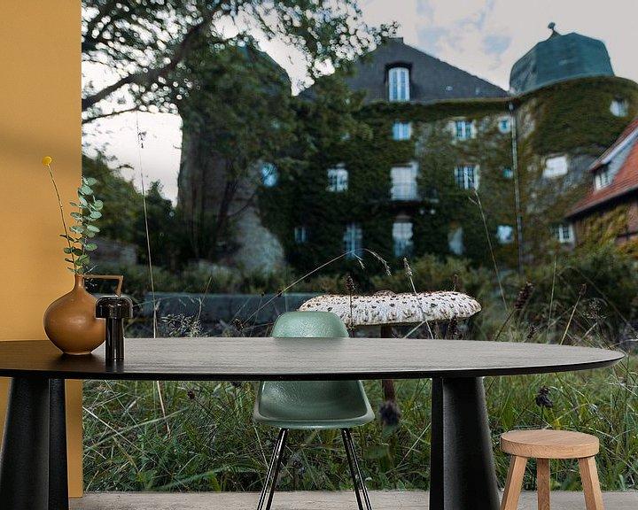 Beispiel fototapete: Blick auf eine verlassene Burg. von Het Onbekende