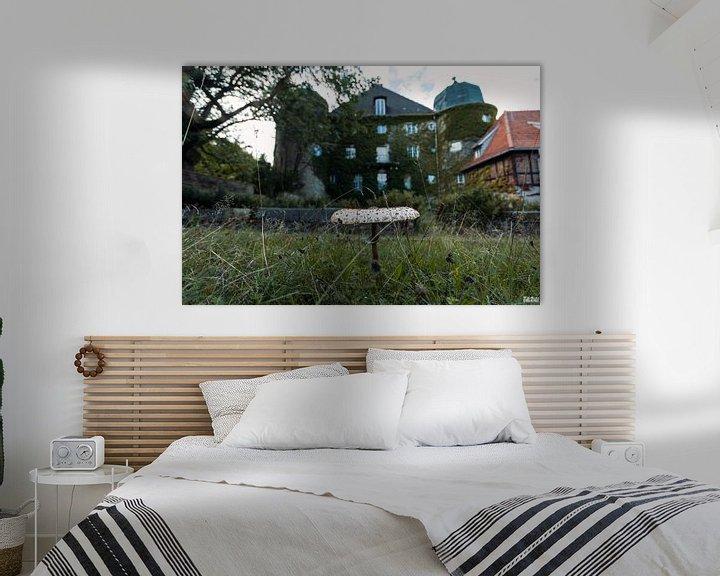 Beispiel: Blick auf eine verlassene Burg. von Het Onbekende