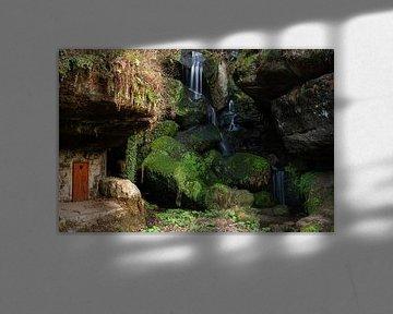 Lichtenhainer Wasserfall von Björn Knauf