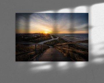 Lever de soleil sur Zoutelande