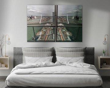 Spiegel, Spiegel an der Wand von Peter Hooijmeijer