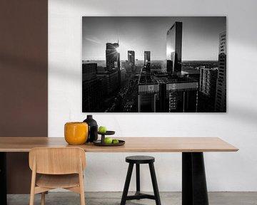 Skyline Rotterdam von Peter Hooijmeijer