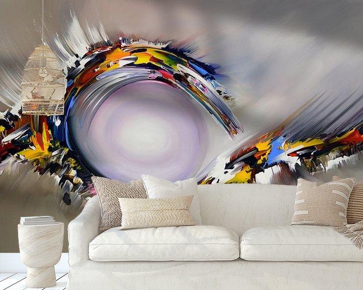 Beispiel fototapete: Abstrakte Illusion von Gena Theheartofart