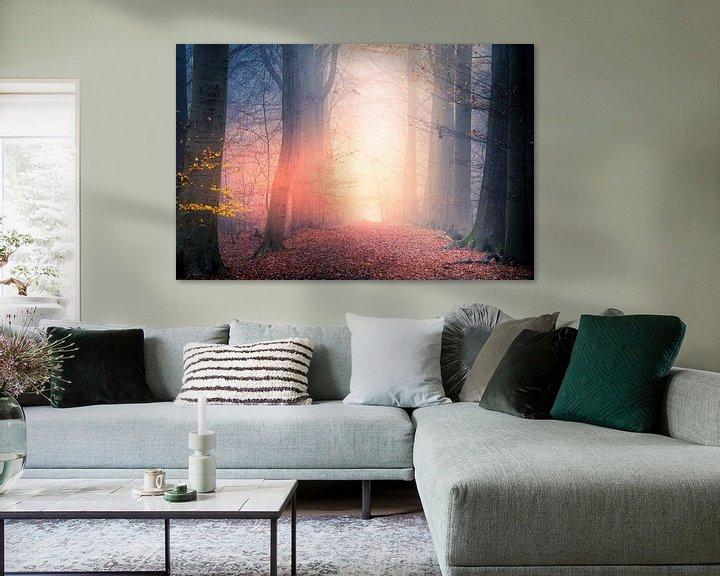 Sfeerimpressie: The mist is on fire van Wim van D