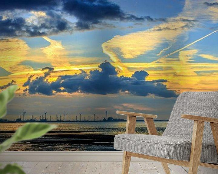 Sfeerimpressie behang: Vlissingen-Oost van wim harwig