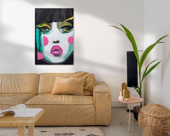 Beispiel: Geisha Glam von Helia Tayebi Art