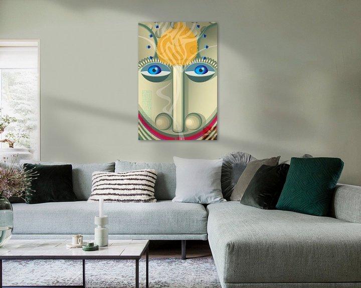 Sfeerimpressie: leeuw van Siegfried Gwosdz
