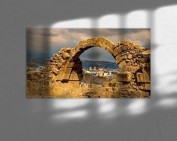 Nea Paphos Archeologish Museum, Cyprus van Adelheid Smitt
