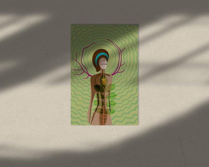Sfeerimpressie: Godin van de natuur van Siegfried Gwosdz