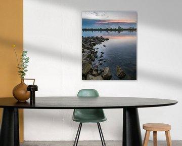Sunset at the rocks van Danny Keimpema