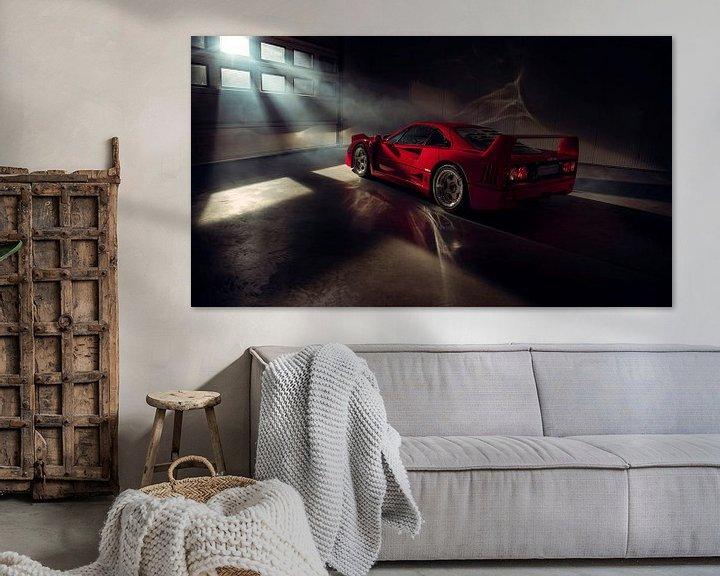 Sfeerimpressie: The Ferrari Big 5 - Ferrari F40 by Gijs Spierings van Gijs Spierings