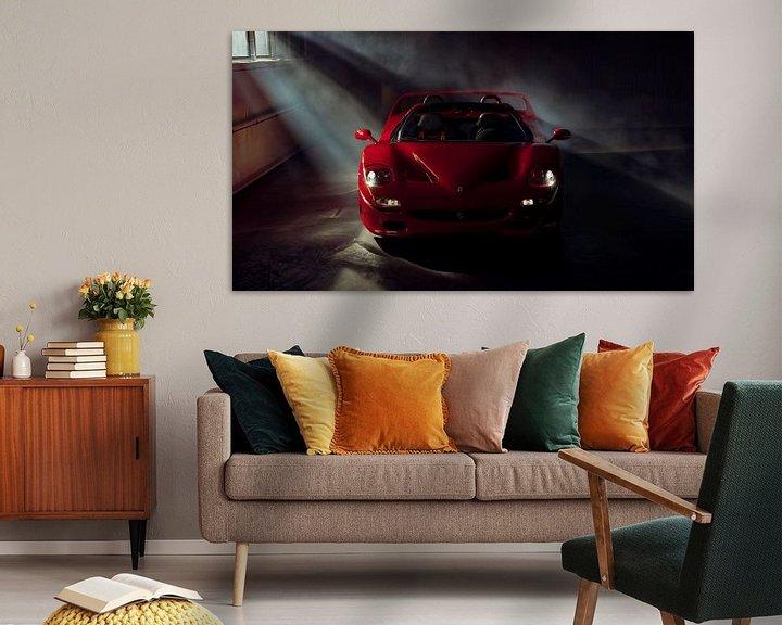 Sfeerimpressie: The Ferrari Big 5 - Ferrari F50 by Gijs Spierings van Gijs Spierings