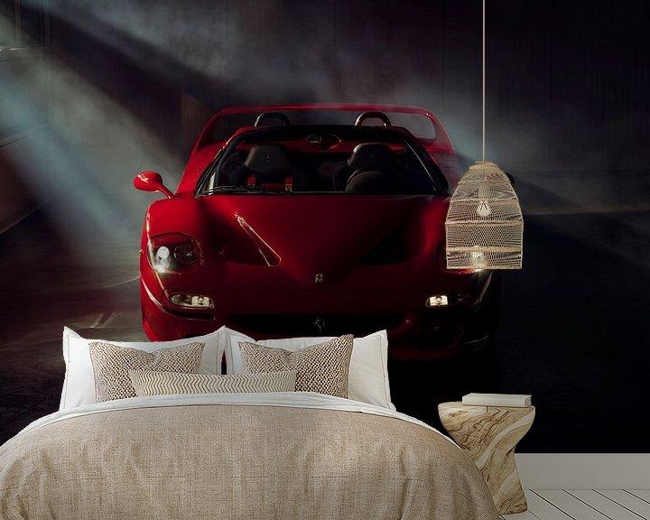 Sfeerimpressie behang: The Ferrari Big 5 - Ferrari F50 by Gijs Spierings van Gijs Spierings