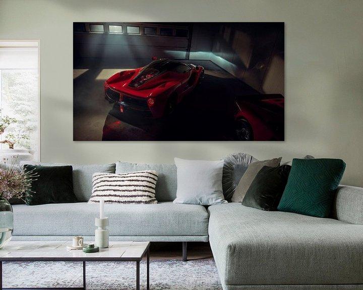 Sfeerimpressie: The Ferrari Big 5 - Ferrari LaFerrari by Gijs Spierings van Gijs Spierings