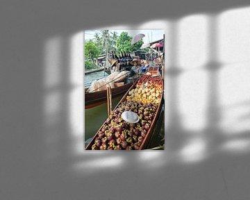 Schwimmender Markt in Thailand von t.ART