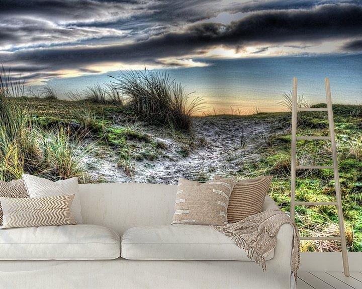 Sfeerimpressie behang: Duinen in Holland van Rodney Hooijman