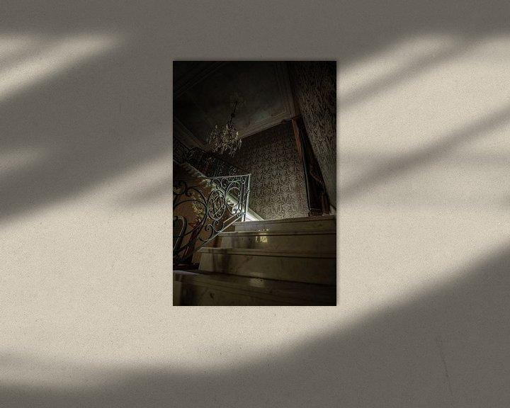 Impression: Escaliers en marbre sur Robbert Wille