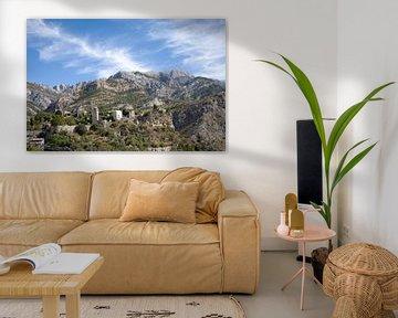 Berglandschap in Montenegro van t.ART