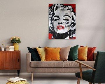 Marilyn Monroe Faszination von Kathleen Artist Fine Art
