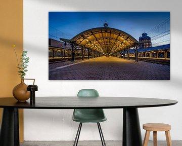 nostalgischer Bahnhof 's-Hertogenbosch von Pixel Meeting Point
