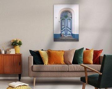 Verzierte alte Tür , Altstadt, Lübeck, Schleswig-Holstein, Deutschland, Europa von Torsten Krüger