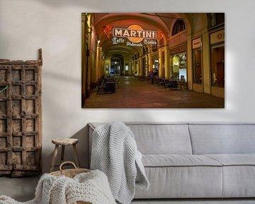 Cafe Restaurant Torino in centrum van Turijn in Italie