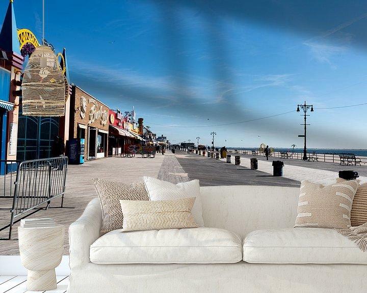 Beispiel fototapete: Coney Island, New York von Puck Bertens