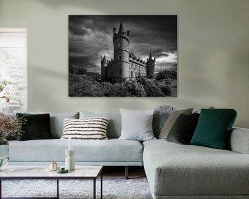 Inveraray Castle - Scotland (Zwart-Wit)