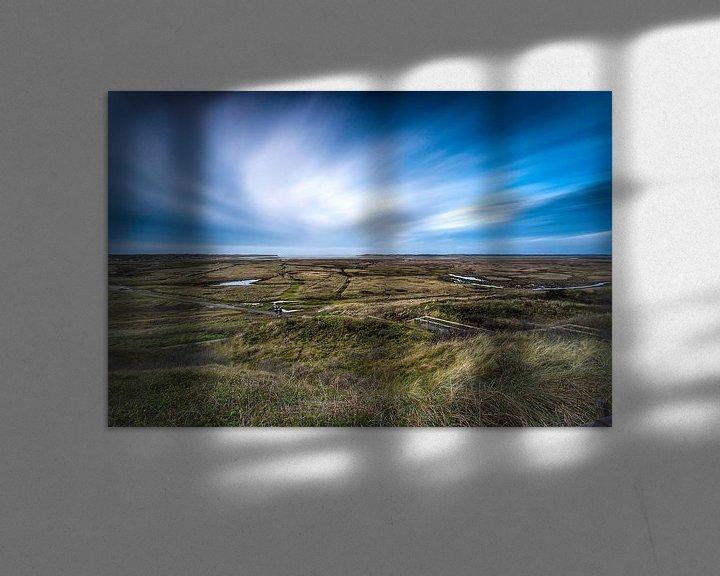 Sfeerimpressie: De Slufter Texel van Maurice Hoogeboom