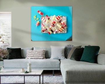 SF 11265630 Zelfgemaakte ijslolly's op dienblad van BeeldigBeeld Food & Lifestyle