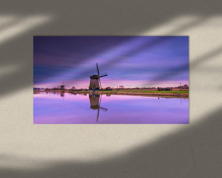 Sfeerimpressie: de hoornsevaart Alkmaar van Maurice Hoogeboom