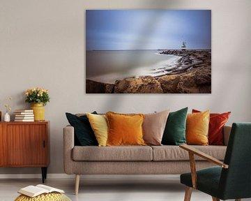 havenlicht ijmuiden van Maurice Hoogeboom