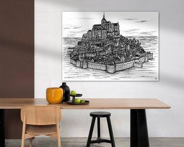 Mont Saint Michel von Lonneke Kolkman