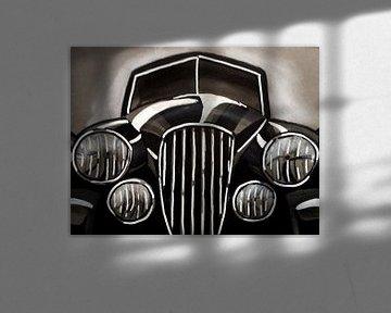 Illustration eines Autos von Lonneke Kolkman